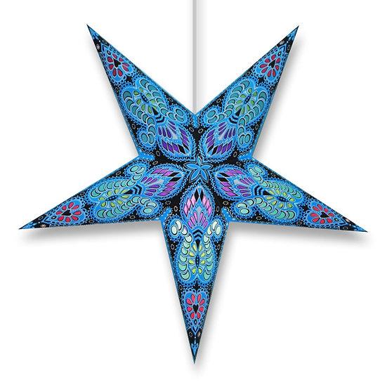 Calypso Hanging Paper Star Lamp