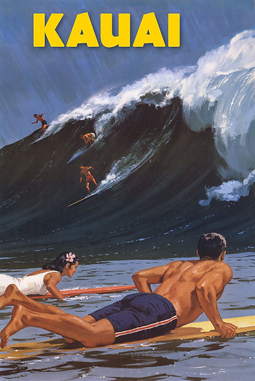 Big Surf Postcard