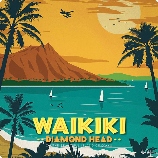AA Waikiki Coaster