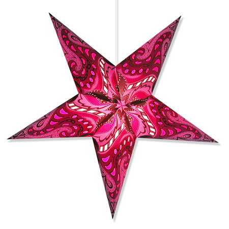 Nebula Star Light in Fuschia
