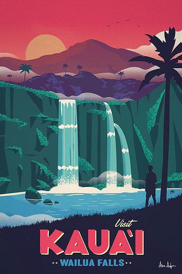 Asfour Kauai Postcard