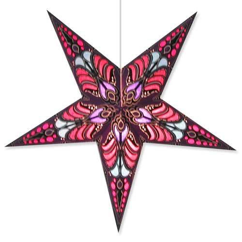 Ramadasa Mauve Artecnica Brand Star Lantern