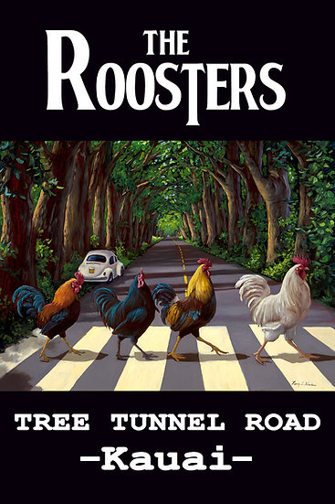 Bilodeau The Roosters Postcard