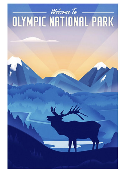 Wickstrom Olympic Postcard