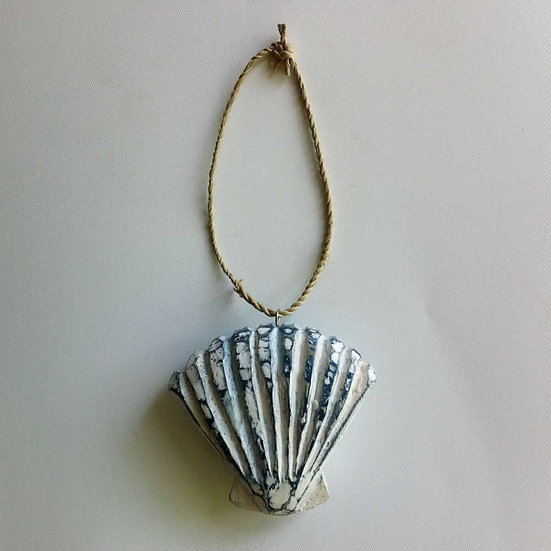 Small Hanging Wooden Shell