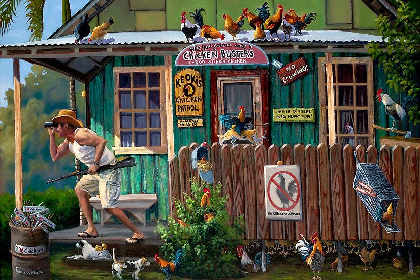 Bilodeau Chicken House Full Postcard