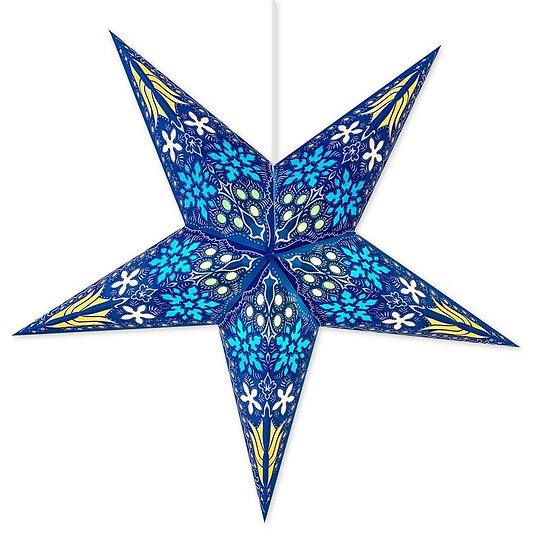 Supernova Blue Star Lantern
