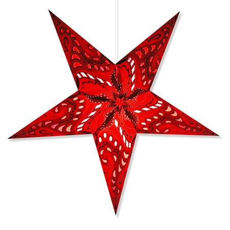 Nebula Star Light in Red