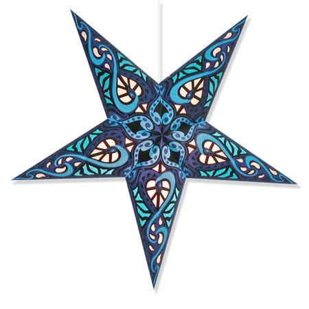 Celtic Star Lamp in Blue