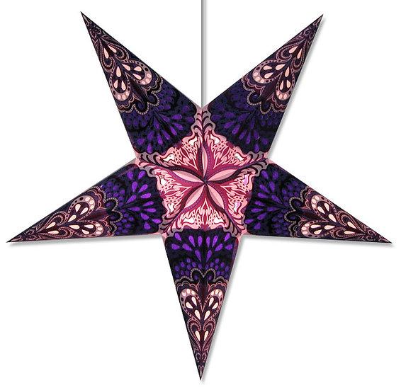 Flower Star Light in Blue