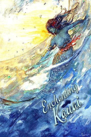Blue Mermaid Postcard