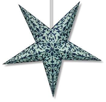 Tribal Print Star Lantern