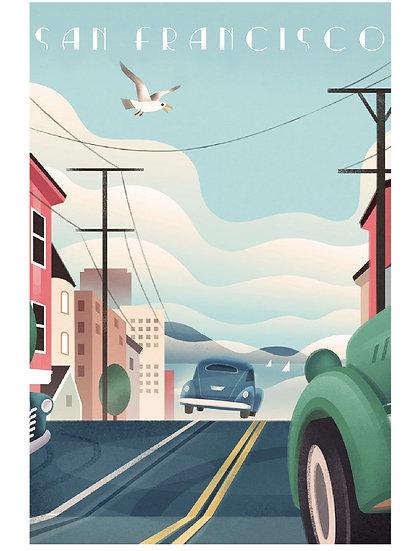 Wickstrom San Francisco Postcard