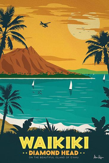 Asfour Waikiki Postcard