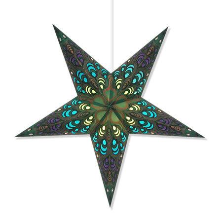 Green Pulse Star Lantern