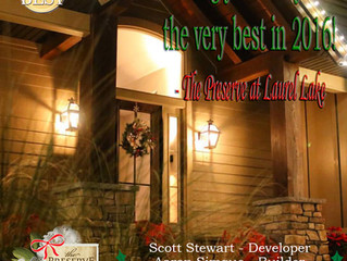 Happy Holidays from The Preserve at Laurel Lake!