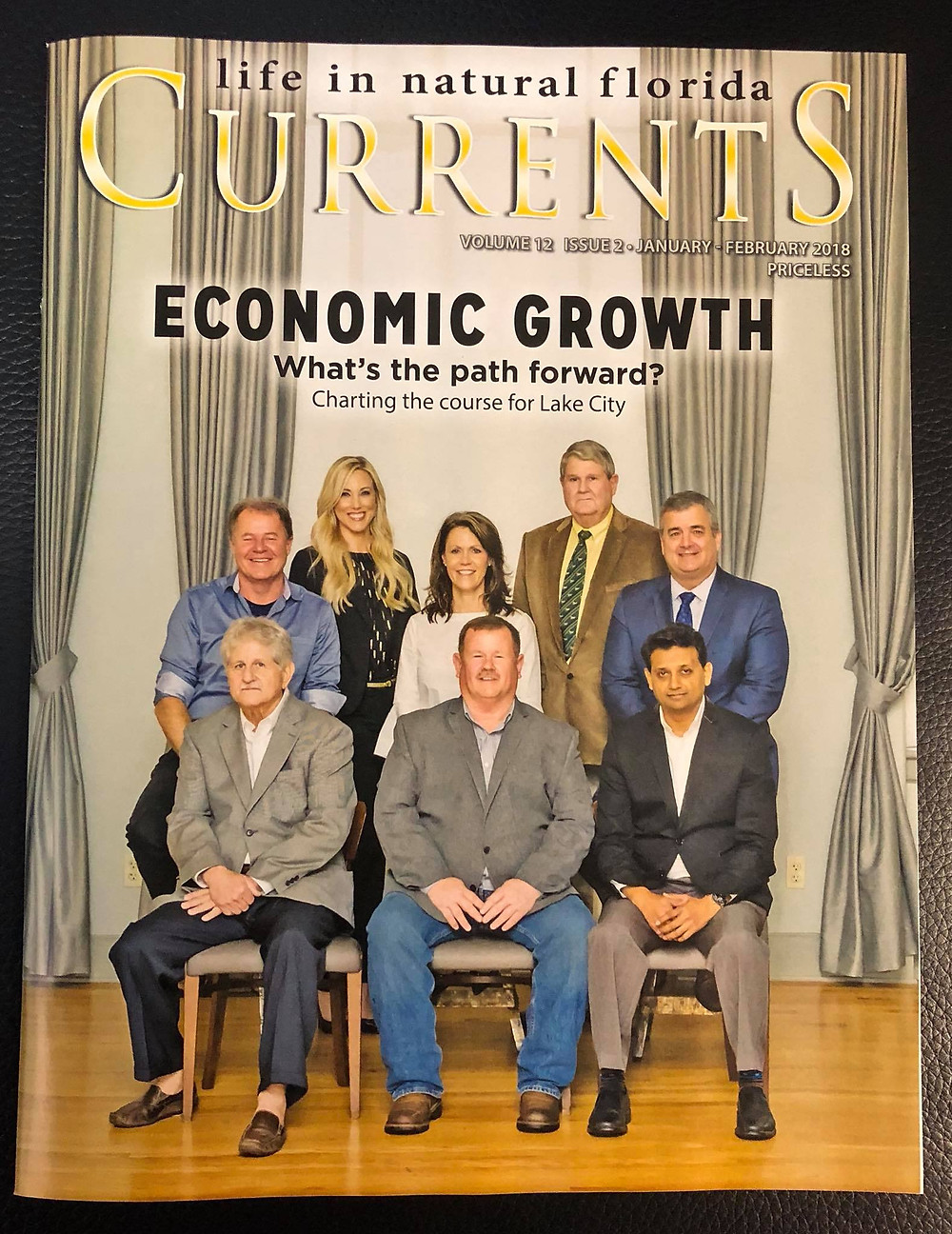 Scott was featured on the cover of Currents Magazine.