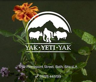 YAK YETI YAK Restaurant - Bath London