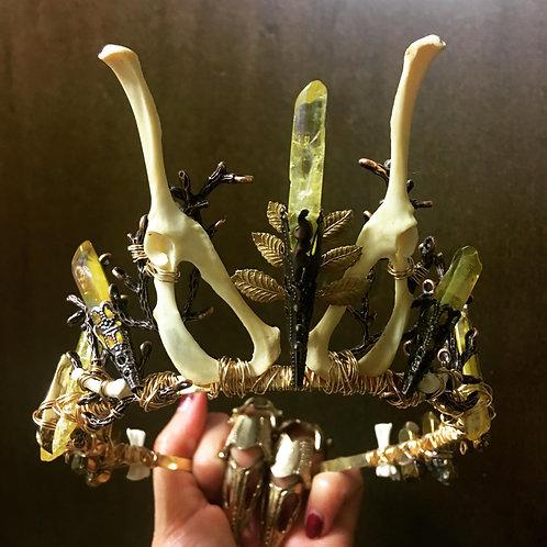 Mink Bone Crown