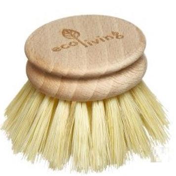 Wooden Dish Brush Head - Replacement Head (FSC 100%)