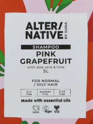 Alter/Native Shampoo - Pink Grapefruit & Aloe