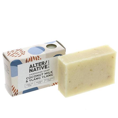 Alter/Native Soap Bar - Coconut Milk & Ylang Ylang