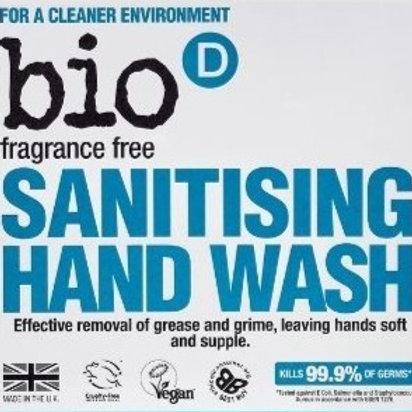 Bio D Sanitising Hand Soap - Unfragranced