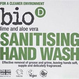 Bio D Sanitising Hand Soap - Lime & Aloe Vera