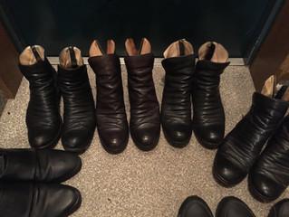 好きな靴をお客様に
