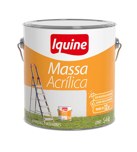 MASSA ACRILICA 5.4KG DELANIL       IQUINE