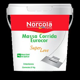 MASSA CORRIDA  25 KG BRANCO EUROCOR NORCOLA