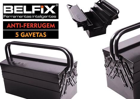 CAIXA DE FERRAMENTAS 5 GAV. 40 CM BELFIX