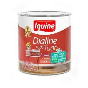 DIALINE TOPA TUDO BRANCO NEVE ACETINADO 0.9L IQUINE
