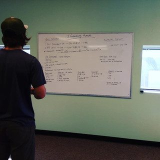Ian Working on MTC Training Philosophy