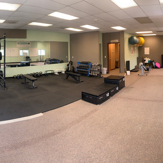 Full shot of our gym