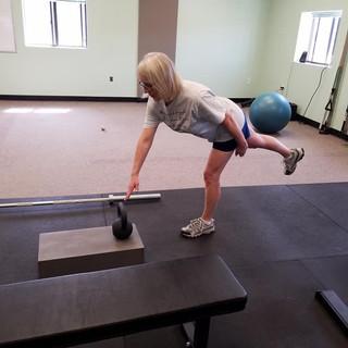 Single Leg Balance to Reach