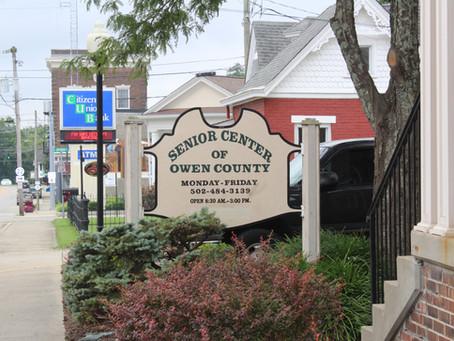 Owen County Senior Center to reopen Aug. 11