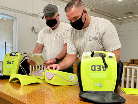 Owen County EMS, EMA coordinate annual maintenance of AEDs