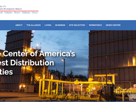 Owen County's Kentucky I-71 economic development alliance launches newly redesigned website
