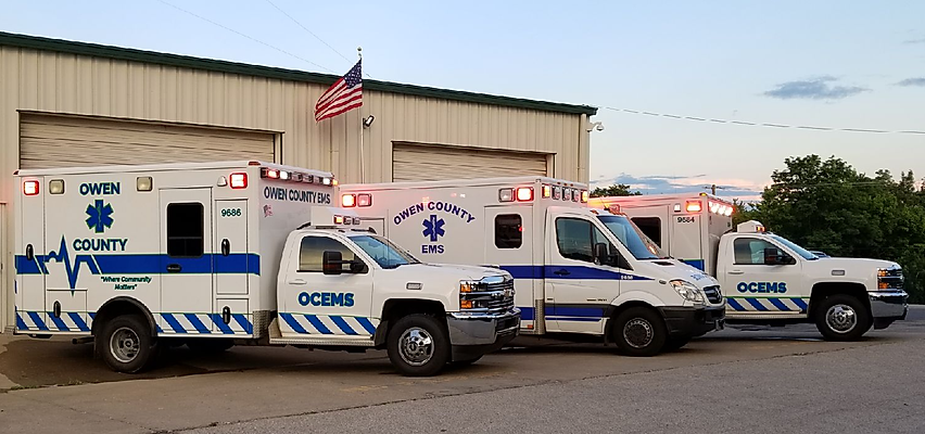 EMS_Vehicles_in_Front_of_Station_2018_fo