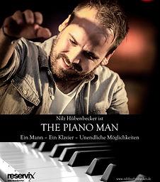Nilz Hübenbecker ist THE PIANO MAN