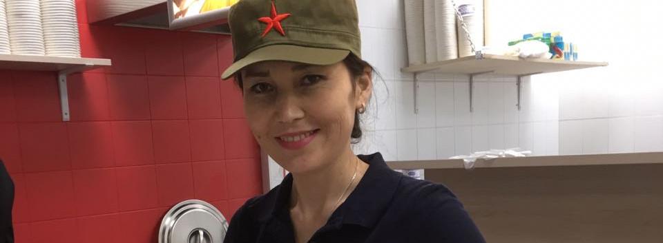 Китайский фаст-фуд у метро Марксистская