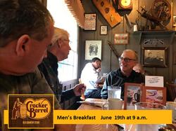 Men's Breakfast Jun 19