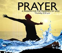 Prayer Water Man