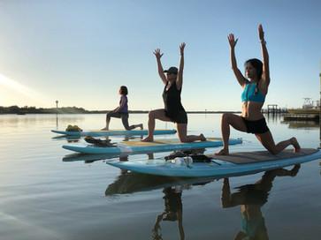 SUP Yoga Activity