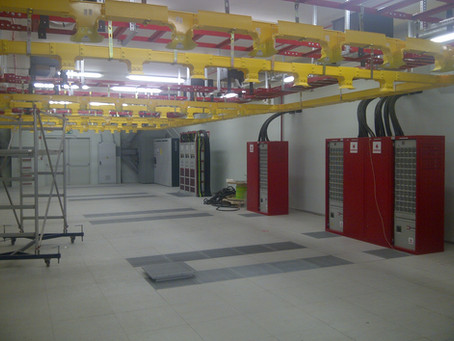Tuzla MTX Datacenter project from year 2010