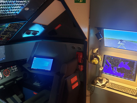 Instructor Station for the home cockpit Inspitaion