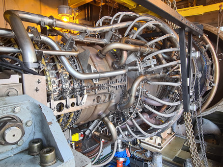 Part 1 - Inside a GE LM6000 (CF6-80C2) Gas Turbine