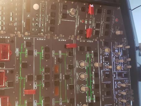 Airbus A320 Overhead Panel Progress Updates