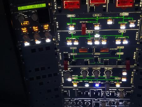 Airbus A320 Overhead ADIRS Panel
